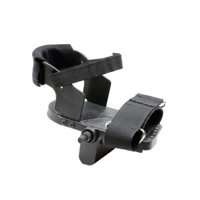 【オプション】<br / > かかとまでしっかりと足を固定<br / > 汎用ヒールガードペダル JD-30A