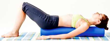 ぐ~っと背中から伸ばして、身体も心も中心部から健康リラクゼーション