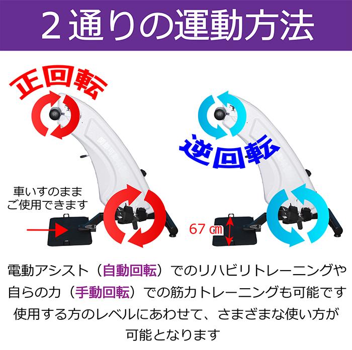 2通りの運動方法
