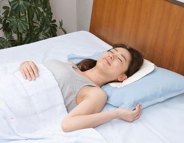 熟睡の鍵は頭部の温度