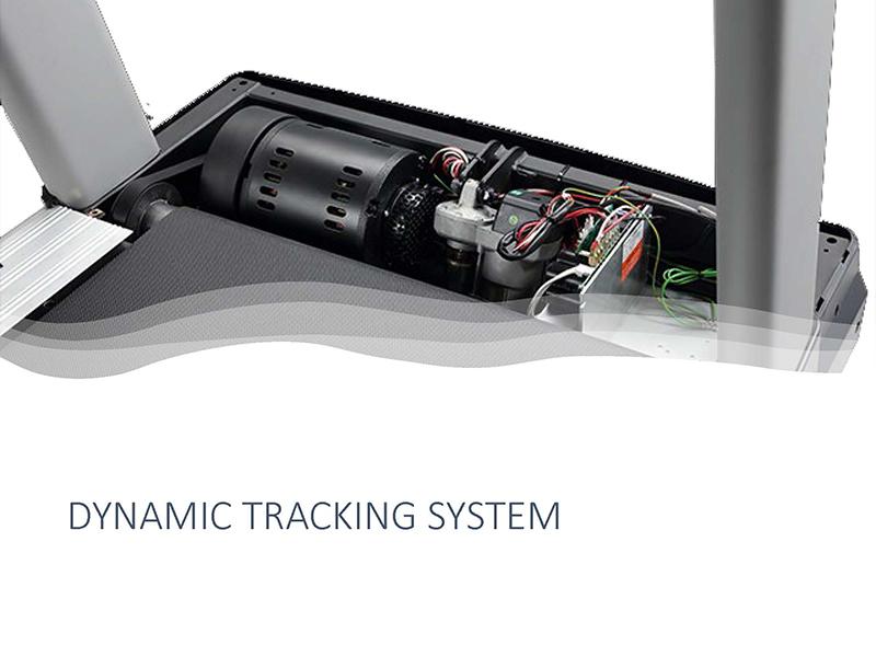 ダイナミックトラッキングシステム搭載!前後進可能の3.0HPモーター
